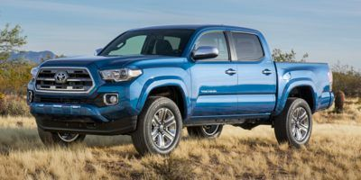 2017 Toyota Tacoma Double Cab 5' Bed V6 4x2 AT (Blazing Blue Pearl)