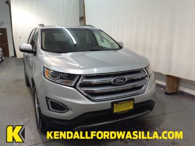 2018 Ford Edge SEL AWD (Ingot Silver Metallic)