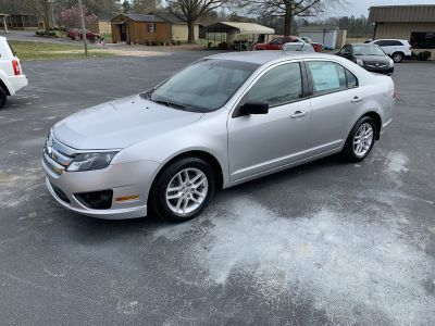 2012 Ford Fusion S (Silver)
