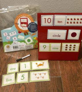 Numbers and shapes pocket chart new