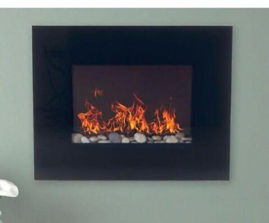 ISO Electric Wall Mounted Fireplace