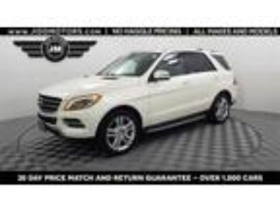 Used 2013 Mercedes-Benz M-Class White, 76.6K miles