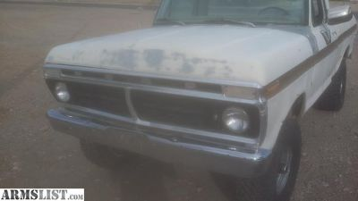 For Sale: 1975 f 100 4x4