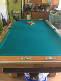 Brunswick Century 8u0027 Pool Table FREE DELIVERY And SET UP INCLUDED