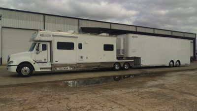 Renegade Toterhome & 40' Liftgate Trailer