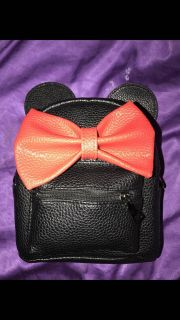 Minnie Mouse backpack never used