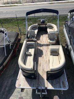 2018 Crest Marine CREST I 220 SLC Pontoons Boats Ponderay, ID