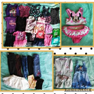 Lot of 18 month baby girl clothes