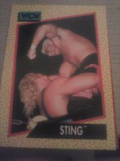 wrestling sports cards (WCW)