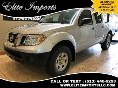2015 Nissan Frontier S 4x4 4dr Crew Cab 5 ft. SB Pi (Silver)