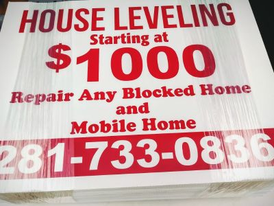 ***Quality House Leveling Pier & Beam****