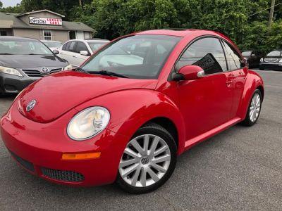 2008 Volkswagen New Beetle S (Salsa Red)