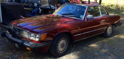 1979 Mercedes Benz 450SL. 2 seater convertible