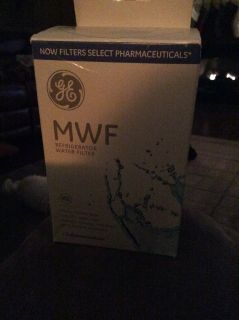 Certified GE refrigerator water filter new in box (MWF)