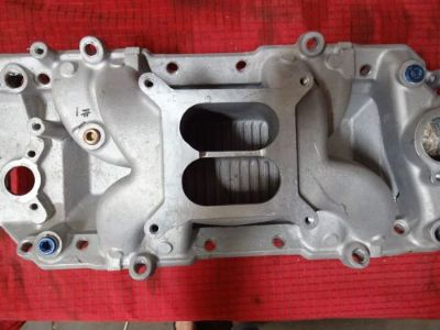 Buy BB CHEVY HIGH RISE DUAL PLANE INTAKE MANIFOLD AIR GAP DESIGN motorcycle in Glendale, Arizona, United States
