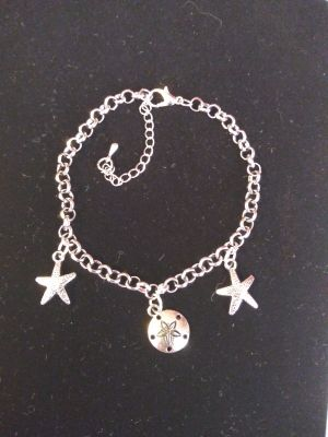 Hand Made Multiple Charms Bracelet