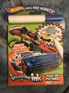 Hot wheels magic ink pictures