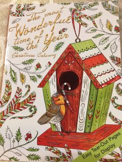 The Most Wonderful Time of the Year Christmas Coloring Book G4