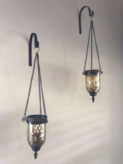 Really pretty hanging candle holders