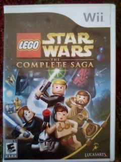 Lego Star Wars the Complete Saga WII game