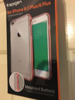 Clear phone case for I phone 6 Plus