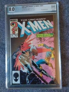 Uncanny X-Men #201 PGX 8.0