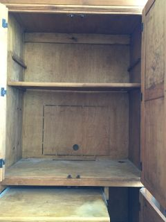 Beautiful wood armoire desk