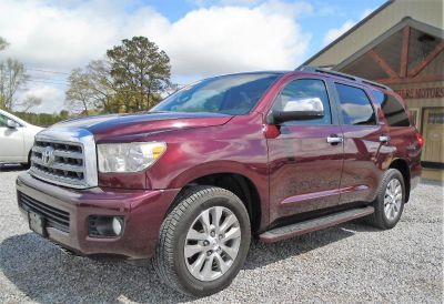 2008 Toyota Sequoia Limited (BURGANDY)