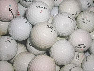 100 Used Golf Balls - Some ProV1 and B330. All Different Brands.