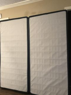 King Size Box Spring and Frame