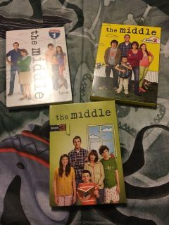 The Middle seasons 1, 2, & 3