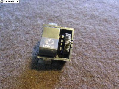 Original Super Beetle Headlight, Dimmer Switch 73+