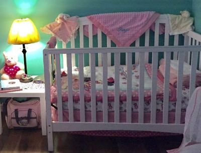 Convertible Baby Crib/Day Bed