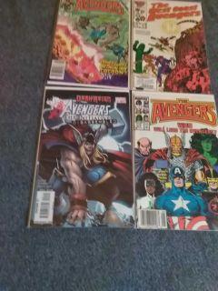 Avengers comics $2 each
