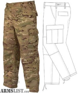 For Sale: Tru-Spec BDU Pants 50/50 CORDURA Nylon Cotton Rip-Stop MultiCam Large 1221005