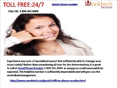 Arrange of issues with Gmail signal like ne'er before 1-850-361-8504