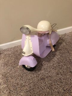 Next Generation Doll Motorcycle and Helmet