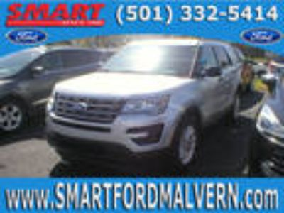 2016 Ford Explorer Silver