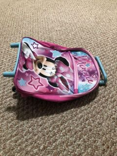Brand new Minnie backpack with wheels
