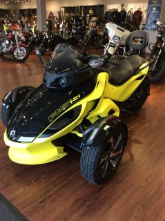 2014 Can-Am Spyder RS-S SM5 Trikes Motorcycles Staten Island, NY