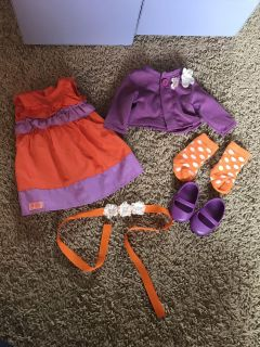 18 doll clothes fit American Girl