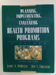 $60 College Text - Planning, Implementing, & Evaluating Health Promo Progs