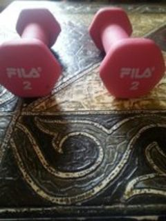 FILA 2 POUND WEIGHTS