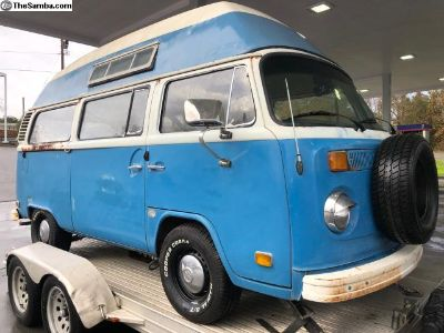 Nice Patina Driver Feb.'73 HighRoof Camper
