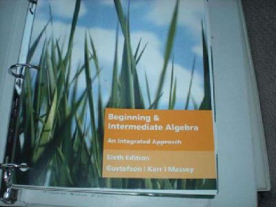 $100 UAA-English A111 and Algebra Books