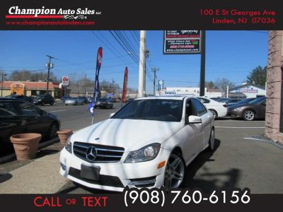 2014 Mercedes-Benz C-Class C250 Luxury (Diamond White Metallic)