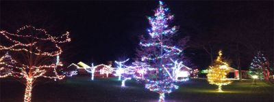 Holiday Lighting For Christmas Party in Muskegon Michigan