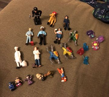 Little figures professions, Knights & more