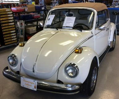 1978 Champagne Edition Beetle Convertible