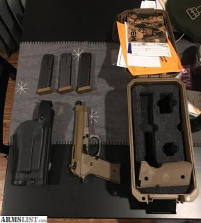 For Sale/Trade: Beretta m9a3 excellent condition